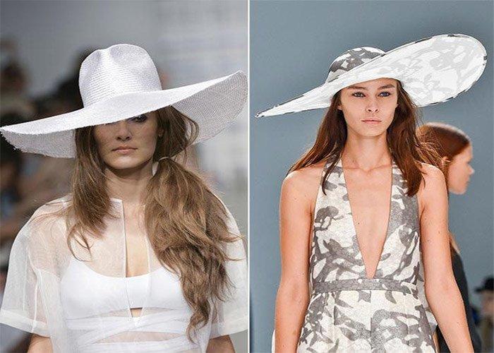 Шляпная мода весна лето 1