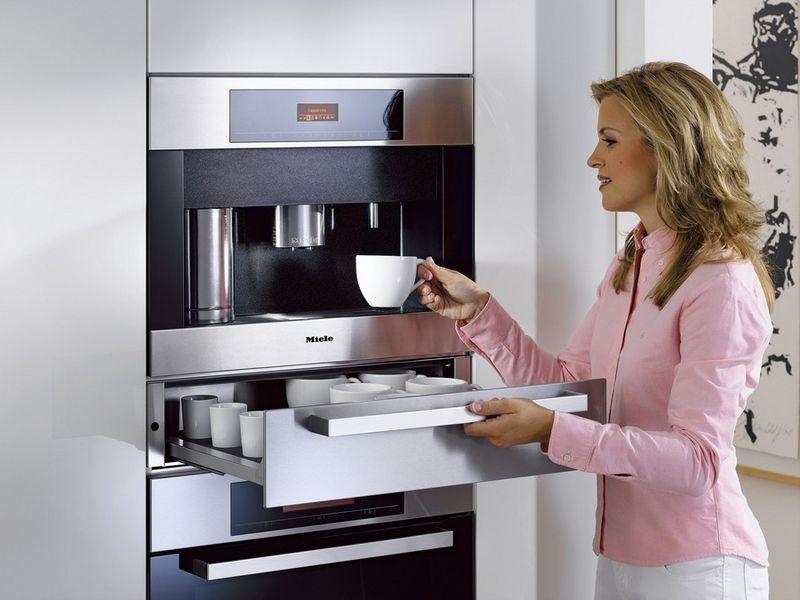 Встраиваемая кофемашина для дома 1