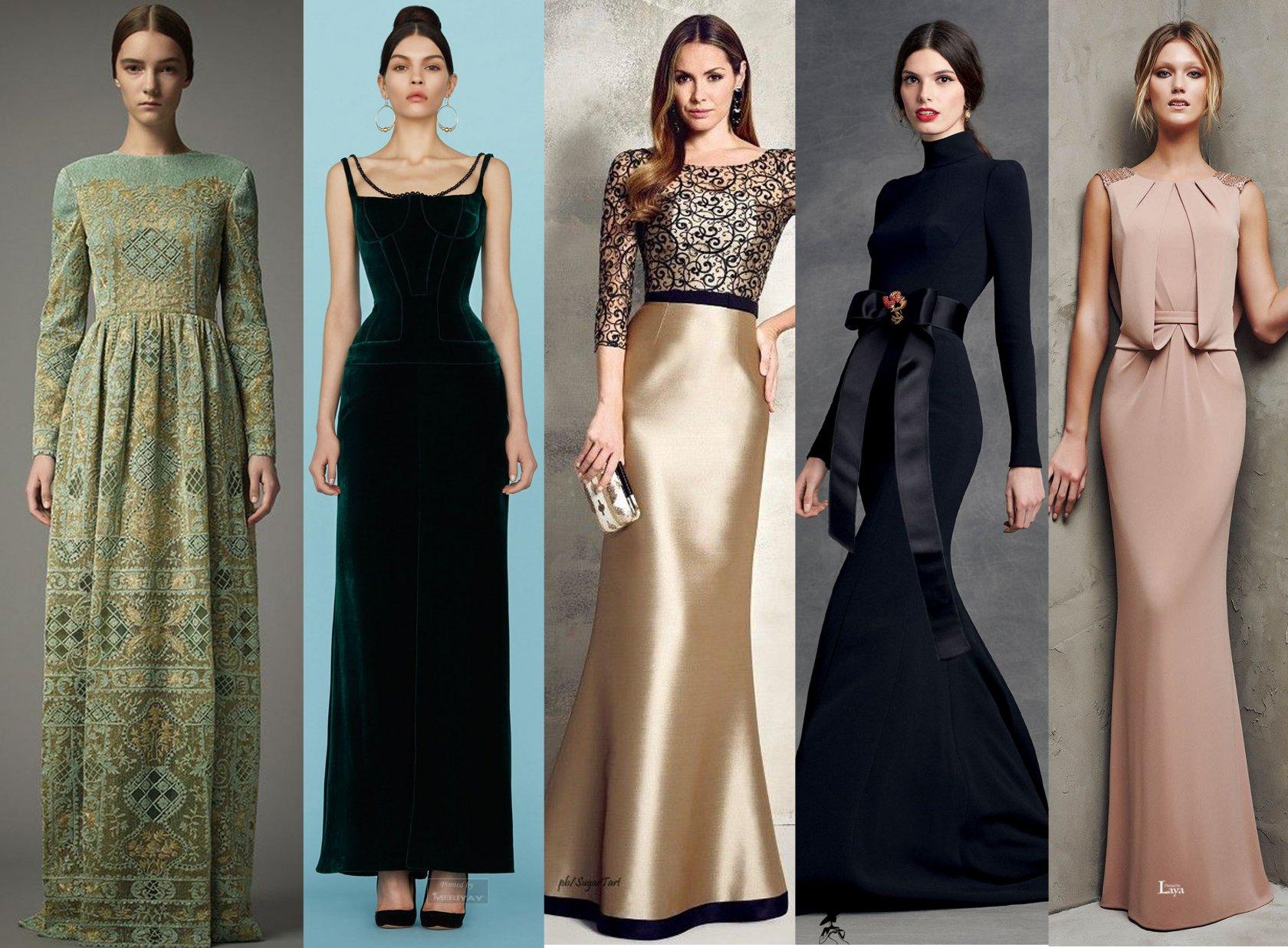 Выбираем нарядные платья для торжественных мероприятий 2