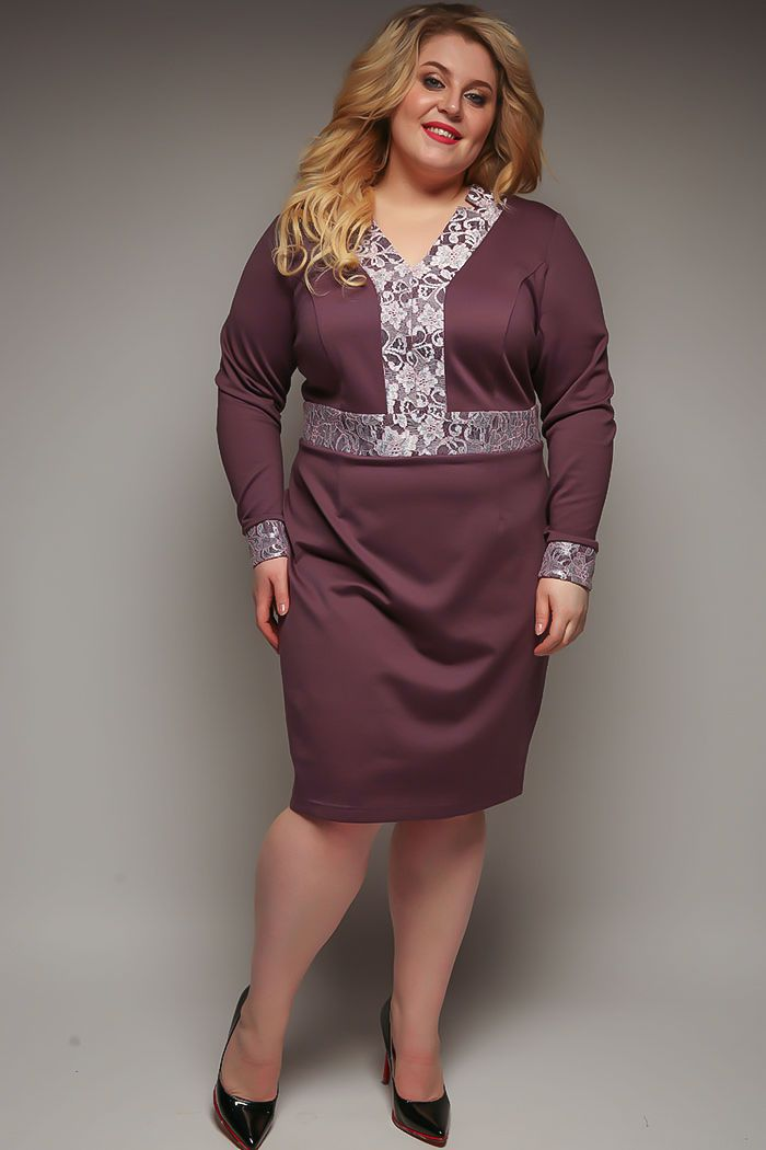 Эффектная одежда для полных женщин от компании Серебряная нить 2