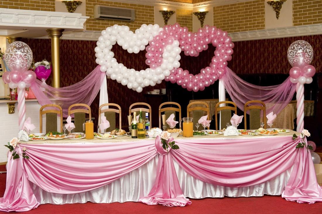 Как правильно оформить зал на свадьбу