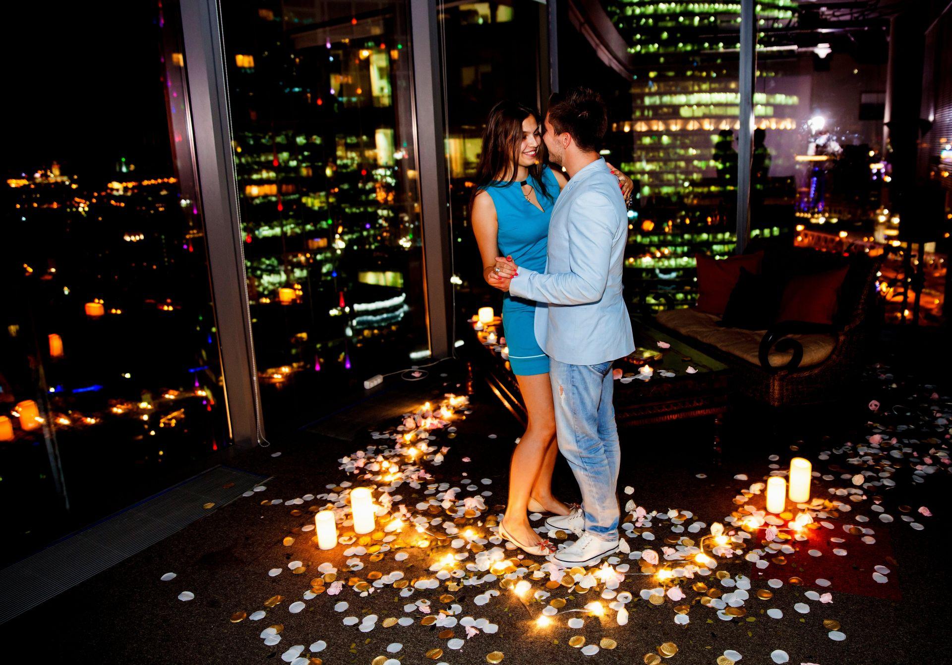 Организация самых романтических свиданий и предложений в Москве