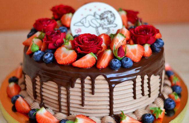 Торт на День Рождения 3