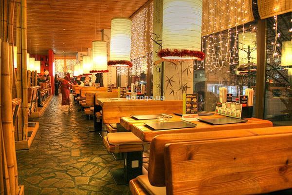 Японский ресторан Тануки3