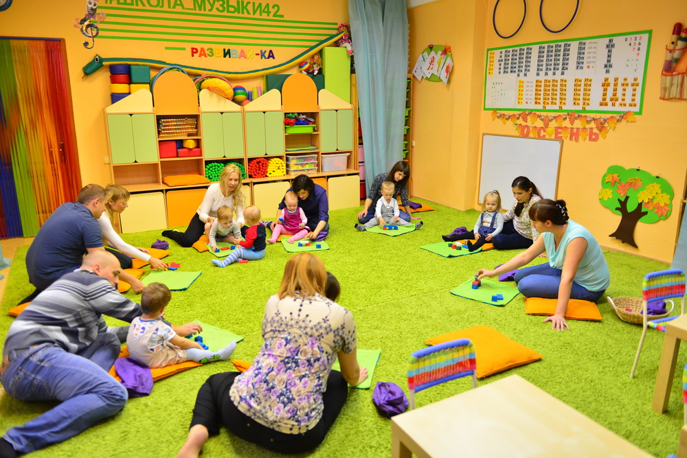 Для чего нужны развивающие центры для детей 1