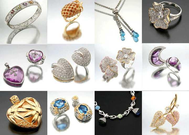 Современные ювелирные украшения разнообразие форм и материалов 1
