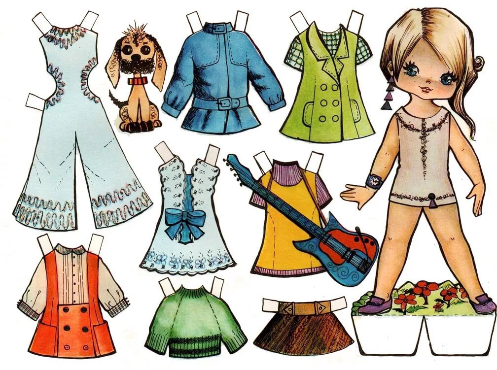 Бумажные куклы 1