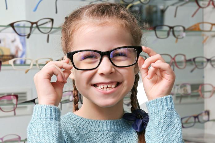 Как подобрать очки ребенку