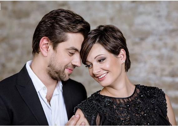 Иван Салахов и Виктория Талышинская