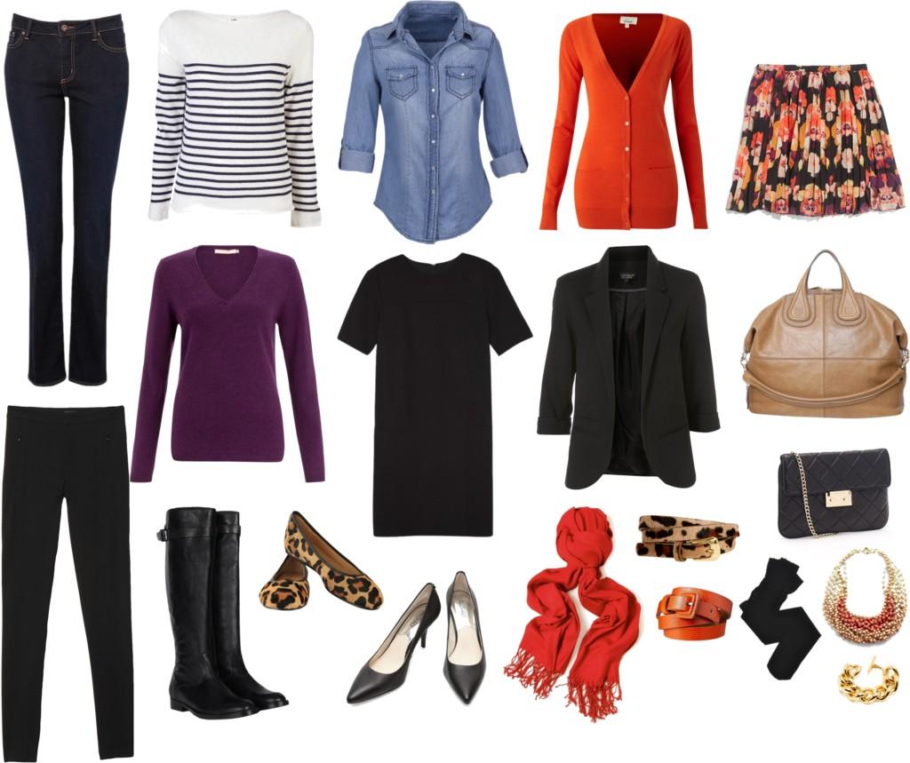 Базовый гардероб на весну для работающей девушки 1