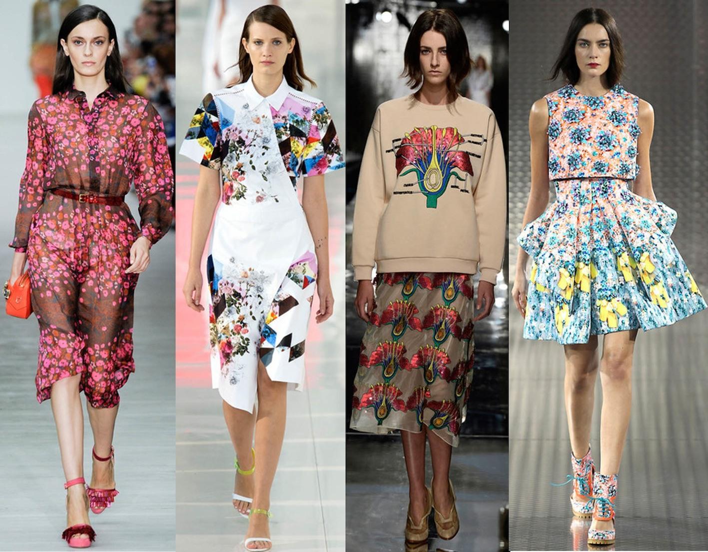 Мода на платья в 2018 году популярные фасоны, палитра и принты 2