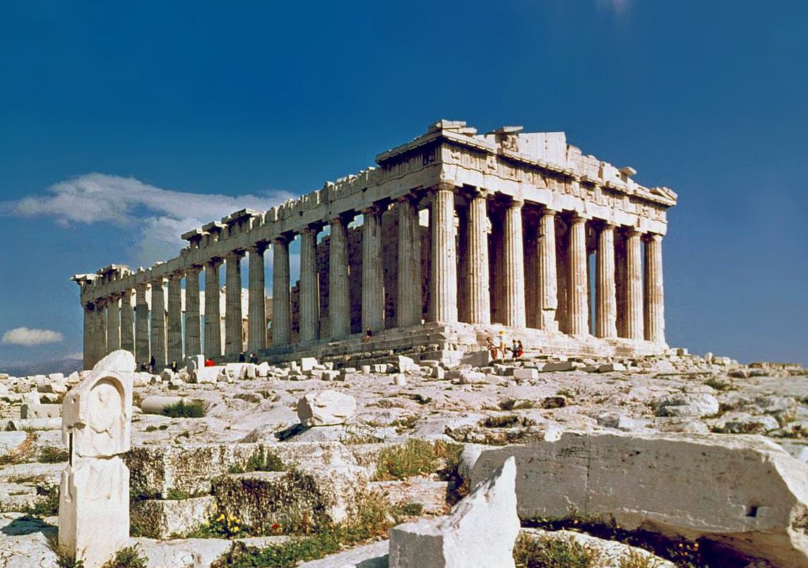 Парфенон_в_Афинах
